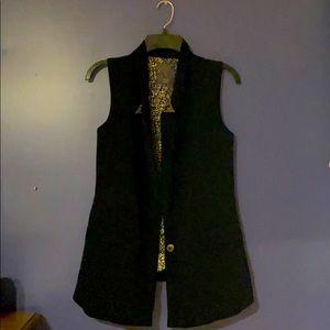 Black Guess vest